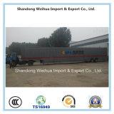 중국 제조에서 수출용 자동차 운반선의 반 트럭 트레일러