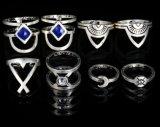 Retro Juwelen van de Manier van de Ring van Acht Kostuum van de Maan Gezamenlijke