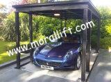 Подъем автомобиля гаража 4 столбов