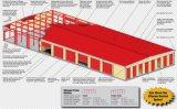Entrepôt préfabriqué de structure métallique pour la mémoire (KXD-SSB1591)