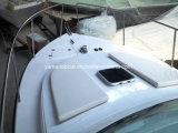 完全な小屋が付いている8.5mのガラス繊維の漁船
