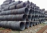 Fil d'acier à faible teneur en carbone Rod pour produire le fil obligatoire ou le clou