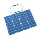 el panel solar flexible 30W para la caravana con acampar