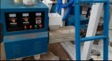 China fêz a película plástica do Zipper do PE a máquina de sopro Ziplock da extrusora