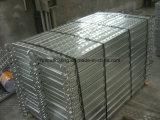 Planche d'échafaudage, panneau de marche d'échafaudage, planche en acier galvanisée
