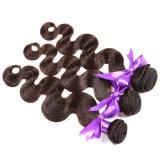 As extensões do cabelo do Virgin de Ombre 4 pacotes do Weave brasileiro do cabelo humano de Ombre da onda do corpo do cabelo do Virgin da classe 7A empacotam 1b 4 27#