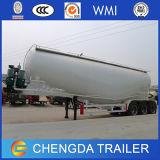 Tipo el tanque del acoplado del petrolero de 3 árboles del acoplado de Bulker del cemento