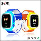 Q90 GPS van WiFi van Jonge geitjes GSM van het Horloge Sos Slim Horloge voor Kinderen
