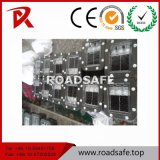 Стержень дороги безопасности движения круглый водоустойчивый отражательный солнечный СИД Roadsafe алюминиевый