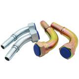 굴착기 사용 Bsp 여성 똑바른 탄소 강철 유압 관 이음쇠 (22611D)