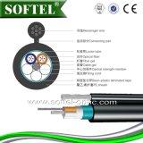 Câble de fibre optique aérien autosuffisant GYTC8S