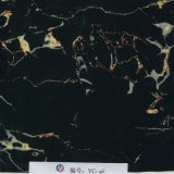 Пленка печати переноса мрамора серебра черноты ширины Yingcai 1m