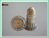 lampada E27 del riflettore di alto potere JDR LED di 5W 6W con l'indicatore luminoso di lampadina di 6PCS SMD LED