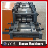 Rodillo accionado por motor de la puerta de los listones del obturador del metal que forma la máquina