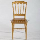 金の結婚式のポリカーボネートの樹脂のナポレオンの幻影の椅子