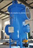 Filtro de água de lavagem automático do grande fluxo