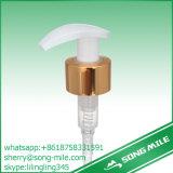 Pompa della lozione dell'interruttore della plastica 24/410 di Alumnium dell'oro