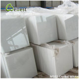 FloorまたはWall Claddingのための中国Popular White Marble M101 Crystal White Polished Marble Tile