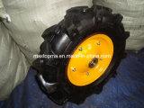 400-8 rueda del caucho de la carretilla de rueda