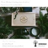 뚜껑 나무로 되는 선물 포장 상자 노리개를 미끄러지는 Hongdao 도매 고품질은 _E를 상자에 넣는다