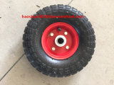 350-4 roda de Rubbel com borda do metal