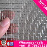 Reticolato di alluminio rivestito dell'insetto della rete metallica dello schermo della finestra del nero della rete metallica dell'epossiresina della fabbrica ISO9001