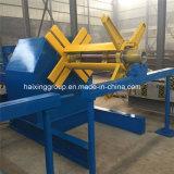 Maquinaria de acero de Decoiler de la tira del color hidráulico