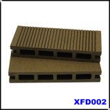 Panneau de plancher extérieur creux de Terrassendielen WPC (KJ001)