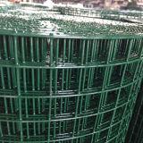 Engranzamento soldado revestido verde revestido do PVC do estábulo UV