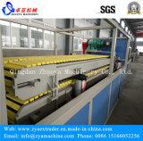 Perfil plástico de madera del panel de la puerta de WPC que hace la máquina/la cadena de producción (1000m m)