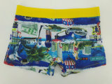 Reactive Print Cotton Youth Men's Underwear Boxer Brief