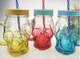 Großhandelsschädel-Glasbehälter-verpackender Glasglasbecher