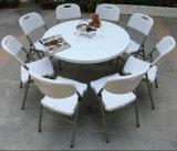 Low all'ingrosso Price 5ft Plastic Round Banquet Folding Double Table (processo di soffiatura in forma, esterni, approvvigionanti)