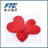 Dekoratives rote Farben-süsses Papiersüßigkeit-Kasten-Weihnachtsgeschenk
