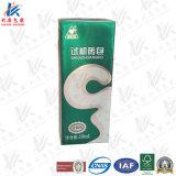 중국 고품질 주스와 우유를 위한 무균 벽돌 판지