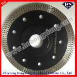 Rim contínuo Wet Cutting Diamond Saw Blades para Stone