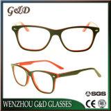 Het klassieke Frame van het Schouwspel van het Oogglas Eyewear van de Acetaat In het groot Optische Sr6040