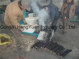 Carvão amassado da serragem da lenha da eficiência elevada que faz a máquina