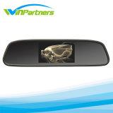 монитор зеркала Rearview 4.3inch/5inch с камерой стоянкы автомобилей
