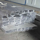 6000 Series Mill Finish Extruded Aluminium Square Tube