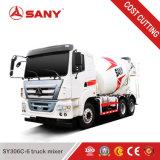 Prezzo mescolantesi concreto del camion del piccolo miscelatore del camion di Sany Sy306c-6 6m3