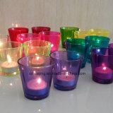 Heiße Verkaufs-verschiedene Größen-runde Glaskerze rüttelt Kerze-Halterungen