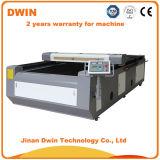 Preiswerter CO2 Laser-Stich und Ausschnitt-Maschine für Verkauf