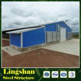 Construction légère de Chambre de volaille de structure métallique