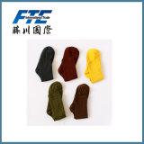 Il colore solido delle calze di modo coppia i calzini felici