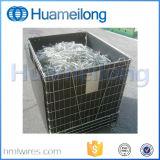 Штабелировать гальванизированную складную клетку металла хранения