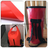 Buon tessuto di plastica del sacchetto della tela incatramata del PVC di qualità 500d