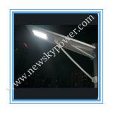O diodo emissor de luz integrou tudo em uma luz de rua solar do diodo emissor de luz