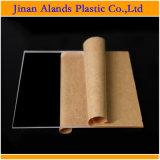 taglio acrilico dello strato di plastica acrilico di 2mm 3mm PMMA per il commercio all'ingrosso