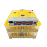 Incubateur automatique efficace élevé approuvé de poulet de la CE pour 96 oeufs